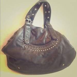 Marc By Marc Jacobs Navy Hobo Bag