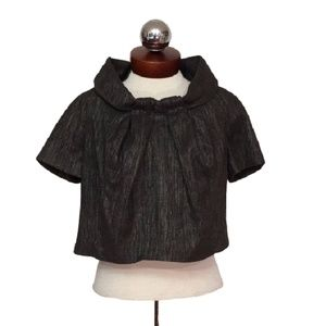 BILL BLASS $894 vintage cropped coat jacket 4