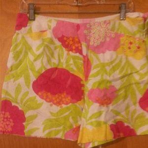 Lilly Pulitzer Sz 8 Beautiful Shorts