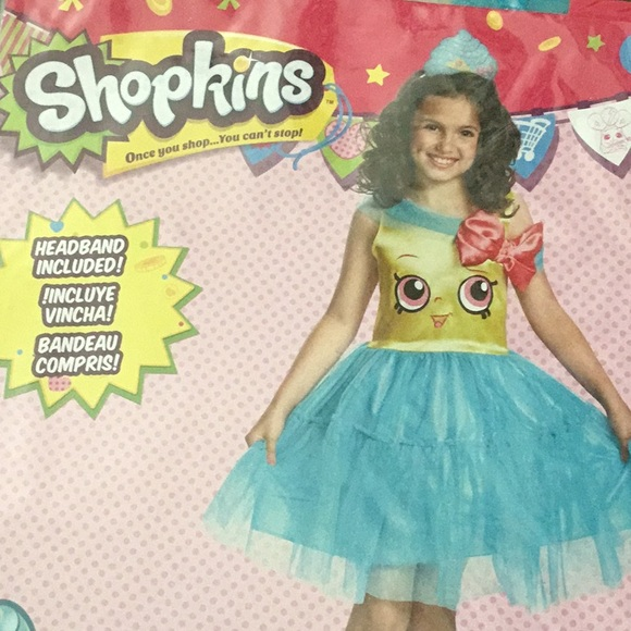 Brand New Cupcake Queen Classic Child Costume
