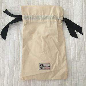 Authentic Lanvin Dustbag