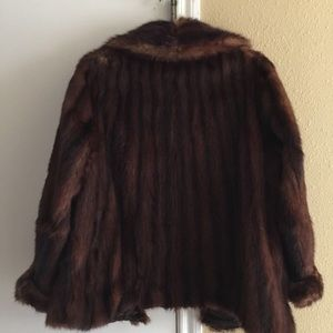 Jackets & Blazers - Antique mink coat