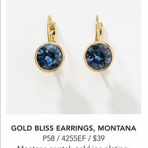 Jewelry - Touchstone Crystal by Swarovski Montana Earrings