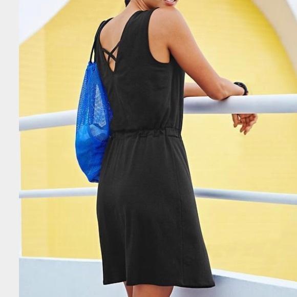 2661a3587e0 Athleta Dresses   Skirts - Black Athleta Lively Dress. Crossback detail!  Tall