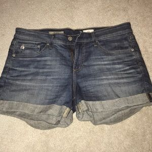 AG JEAN SHORTS: The Hailey Ex-Boyfriend Roll Up