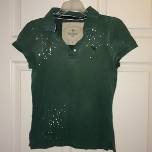 Tops - Abercrombie& Fitch, polo, sz LA. Gently used