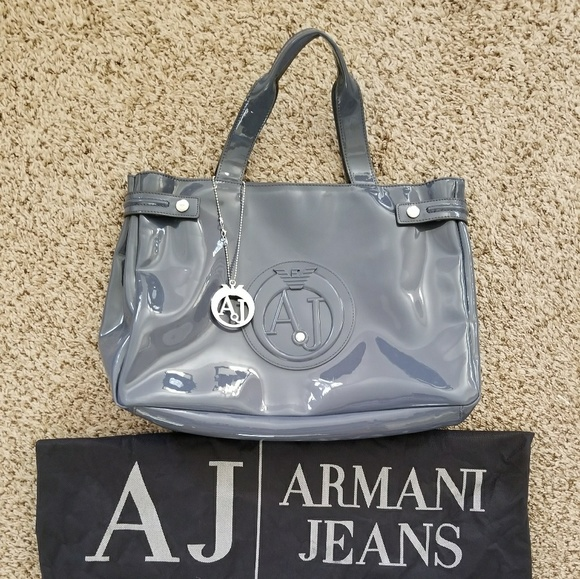 cf6fd8c3872 Armani Jeans Handbags - SALE Armani Jeans Jelly Bag