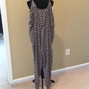 Jumpsuit. NWT. Gathers at ankle.