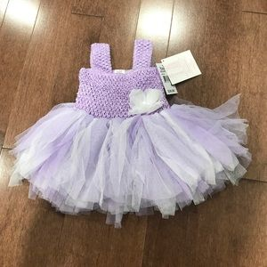 Gorgeous purple dress for a 6 month old