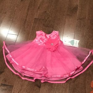 Beautiful pink dress for 3-6 months old