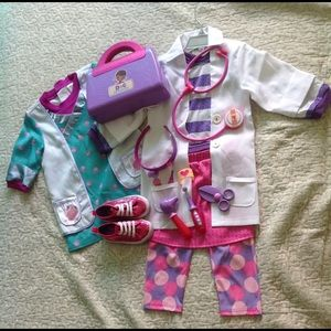 doc mcstuffins full costume for kids