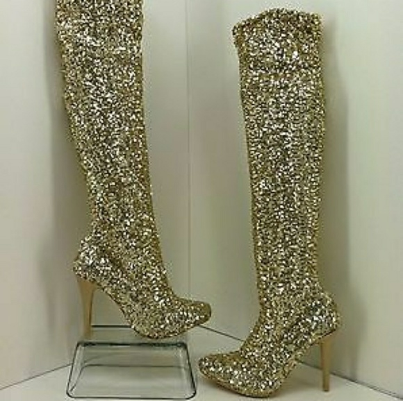 c0b56f68c62 💛LIMITED EDITION STEVE MADDEN SEQUIN BOOTS!!