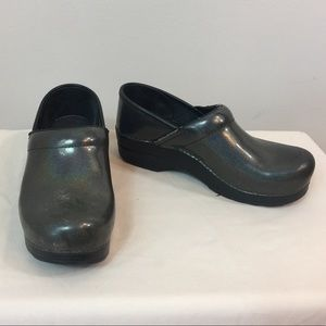 Dansko Oil Slick Clogs