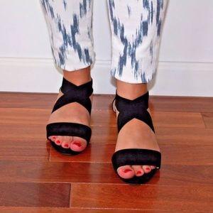 H&M Black Summer Sandals