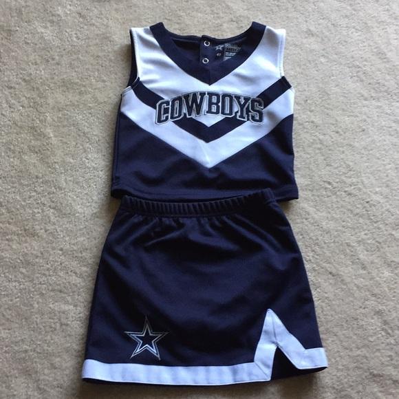 48f7c400009 Dallas Cowboy Authentic Other - Dallas Cowboys toddler Cheerleader uniform  - 4T