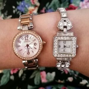 VTG Set Of 2 Watches! Gorgeous!!!!!♡♡♡