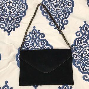 Jcrew suede purse