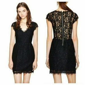 Aritzia Babaton Tobias lace dress
