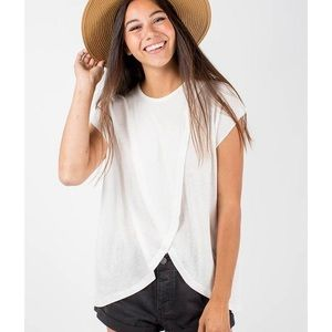 Knot Sisters White T Shirt