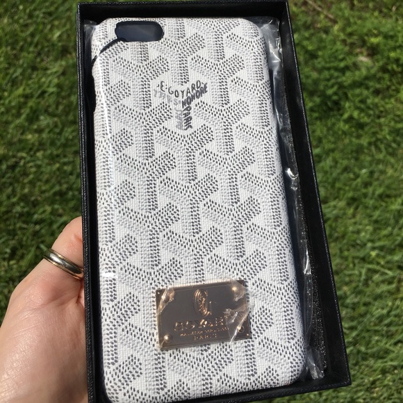 Goyard Accessories - Goyard iPhone 6 6s case cover (White)