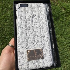 Goyard iPhone 6 6s case cover (White)