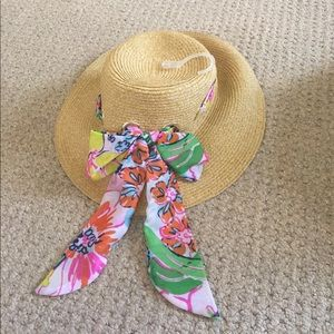Lilly Pulitzer Straw Hat