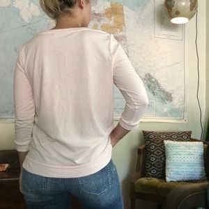 LC Lauren Conrad Sweaters - Lauren Conrad Blush Daisy Sweater