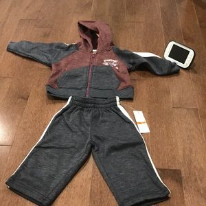 Jacket and put set for 12 months and 18 months