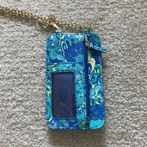 Lilly Pulitzer crossbody wallet