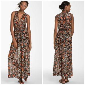 805f1693d3e Joie Dresses - Joie Silk Sheer Floral Maxi Dress