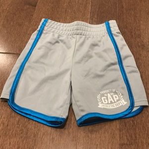 Gray and blue shorts from Gap for 12-18 months