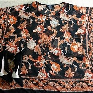 IB DIFFUSION paisley printed top size medium, used for sale