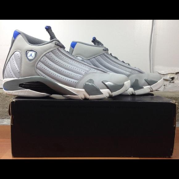 979a4a01ec3c26 Jordan Other - Nike Air Jordan Retro 14 Sport Blue Shoes Size 11