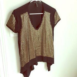 BCBGMazazria knit blouse