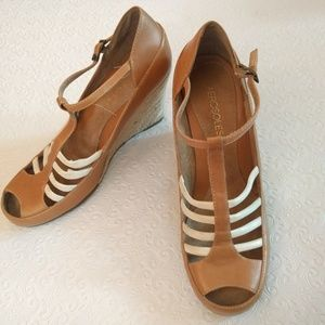 d809a890e3e2 AEROSOLES Shoes - Sale! Aerosoles T Strap Peep Toe Wedges
