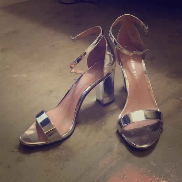 27d8cf0281 Madden Girl Shoes | Bella Two Piece Block Heel | Poshmark