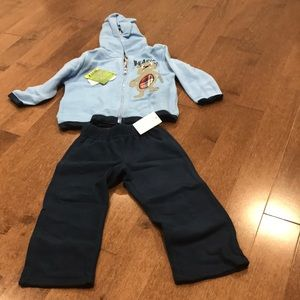2 piece jacket and pant set for 24M