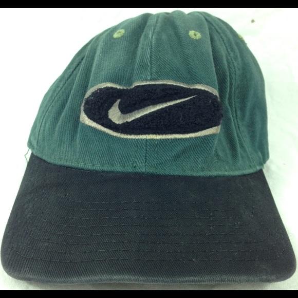 53057f3e379 Vintage Nike Old School Felt Baseball Dad Hat. M 59b6fa665a49d0b5a00a3f74