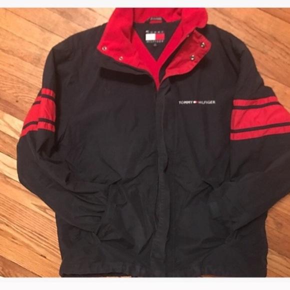 a44f7f59289f37 Vintage Jackets & Coats | Rare 90s Tommy Hilfiger Bomber Jacket ...