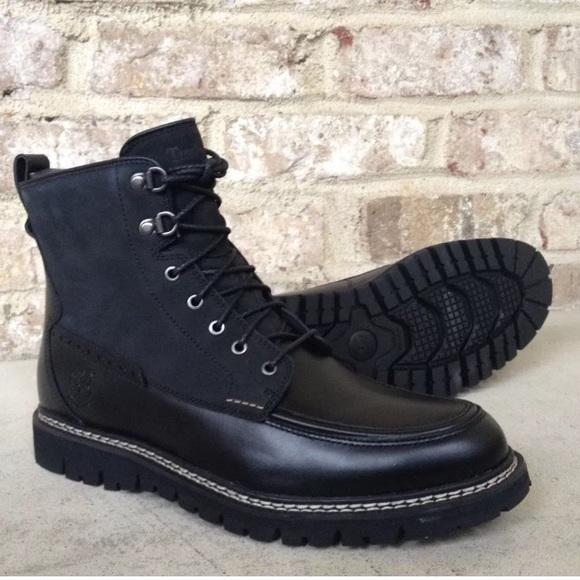 Men's Britton Hill Moc Toe Waterproof Boots   Mens shoes
