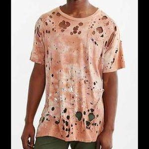 US Rags Coral Paint Splatter T-Shirt