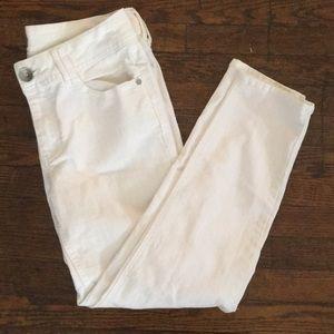 Wit & Wisdom Pants - White denim pants