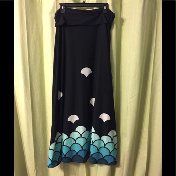 4b15adcd0b Lularoe's Mermaid Maxi!!! M_59b6fd89fbf6f9b37f0a19fd