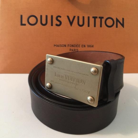 95215b1c5b22 Louis Vuitton Other - MEN S LOUIS VUITTON BELT With Gift ...