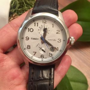Men's Timex automatic power reserve watch