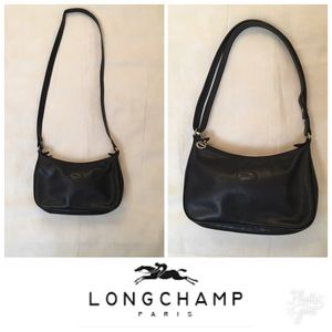 Longchamp Convertible leather bag