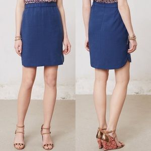 NWT Anthropologie Curved Cleo Skirt by Maple Sz 12