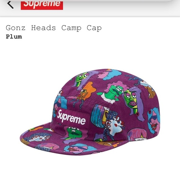 3cda130bdd1 Supreme Gonzs Head Camp Cap