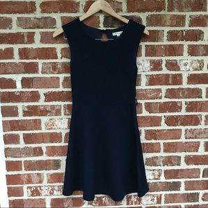 Navy Blue Boutique Dress