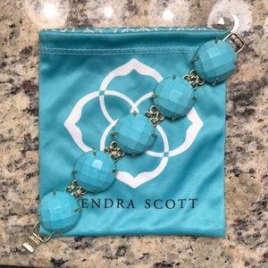 Kendra Scott Turquoise Cassie Bracelet